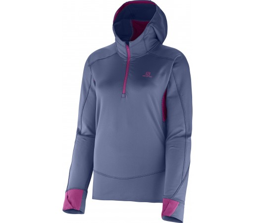Midlayer Salomon Swift II W Blue