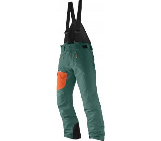 Pantaloni Ski si Snowboard Salomon Chillout Bib  M Green