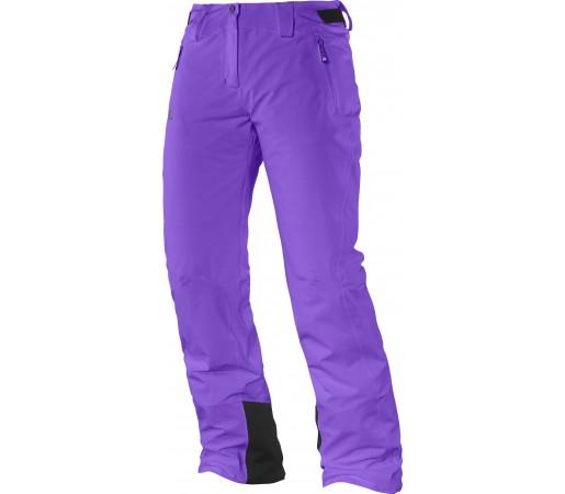Pantaloni Ski si Snowboard Salomon Iceglory W Purple