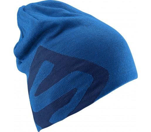 Caciula Salomon Flat Spin Reversible Beanie Blue