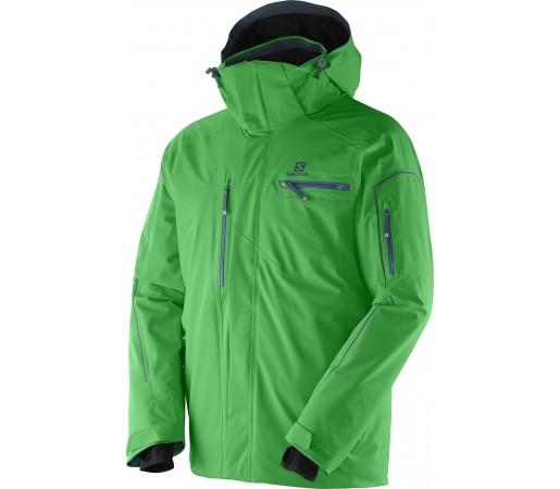 Geaca Ski si Snowboard Salomon Brillant M Green