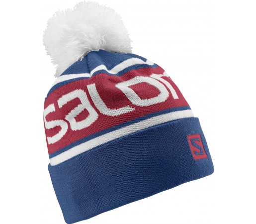 Caciula Salomon Free Beanie Blue/Red