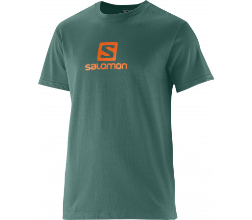 Tricou Salomon Polylogo M Green