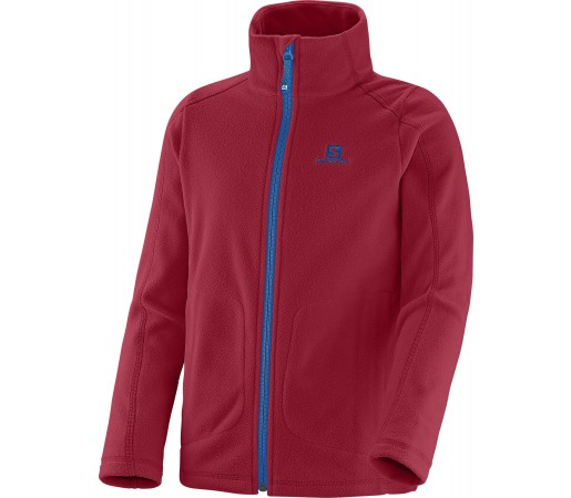 Midlayer Salomon Panorama Jr Fz K Red