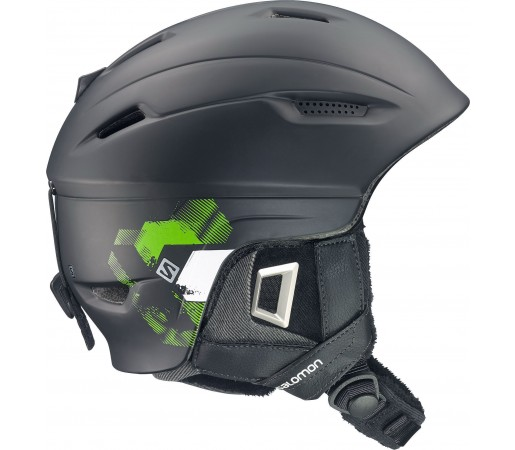 Casca Ski si Snowboard Salomon Ranger Custom Air Black/Green