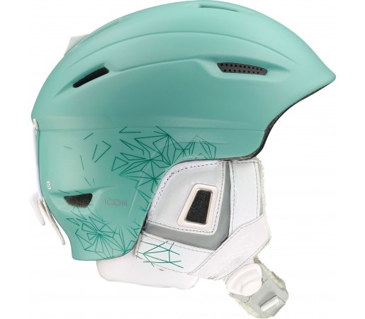 Casca Ski si Snowboard Salomon Icon Custom Air Green