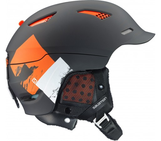 Casca Ski si Snowboard Salomon Prophet Custom Air Black/Orange