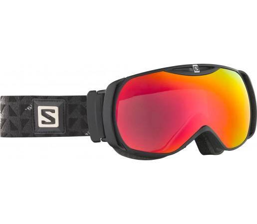 Ochelari Ski si Snowboard Salomon X-Tend Black/Red Chrome