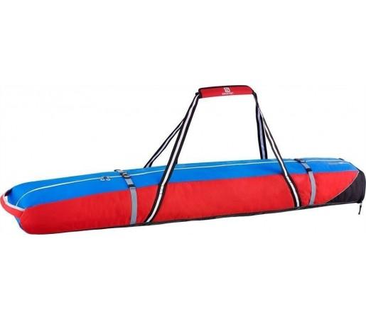 Husa Skiuri Salomon Extend 2 Pairs Ski Bag Red/Blue
