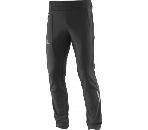 Pantaloni schi nordic Salomon Momemtum Softshell Fz Pant M Negri