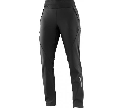 Pantaloni schi nordic Salomon Momemtum Softshell Pant W Negri