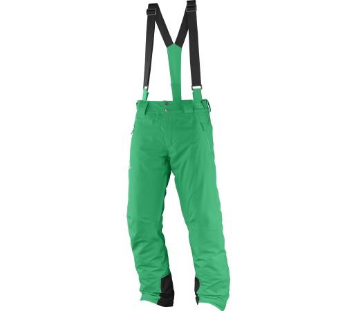 Pantaloni de Ski si Snowboard Salomon Iceglory M Verzi