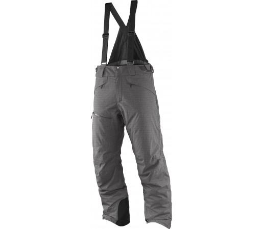 Pantaloni de Ski si Snowboard Salomon Chill Out Bib M Gri