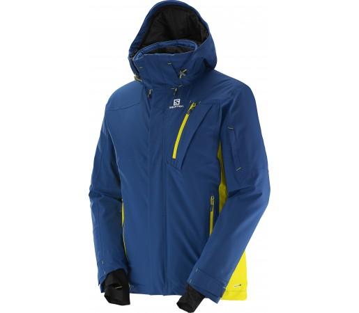 Geaca de Ski sau Snowboard Salomon Iceglory M Albastra Inchis