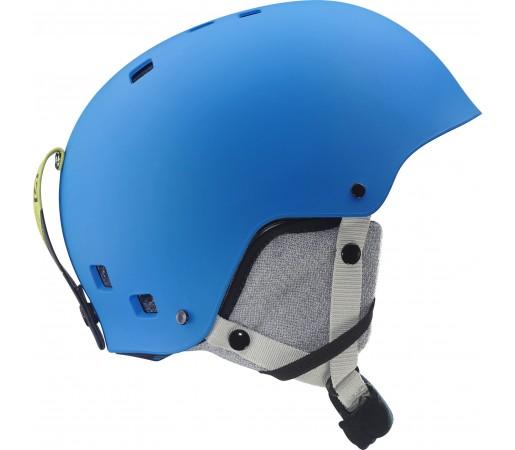 Casca schi si snowboard Salomon Jib Jr Albastra