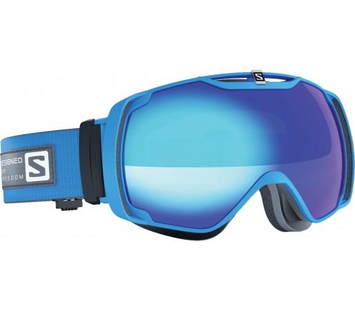 Ochelari de schi si snowboard Salomon X-Tend Albastru