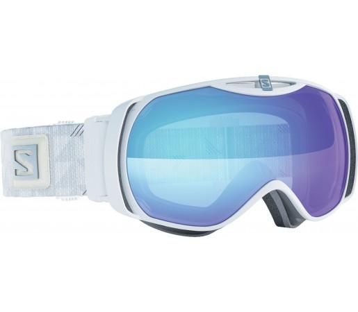 Ochelari de schi si snowboard Salomon X-Tend S Photo White