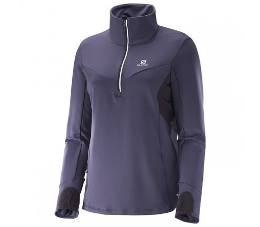 Midlayer Salomon W Trail Runner Bleumarin