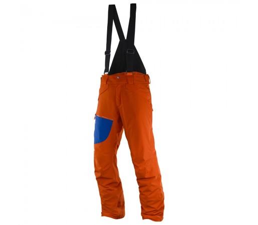 Pantaloni schi si snowboard Salomon M Chill Out Bib Portocalii