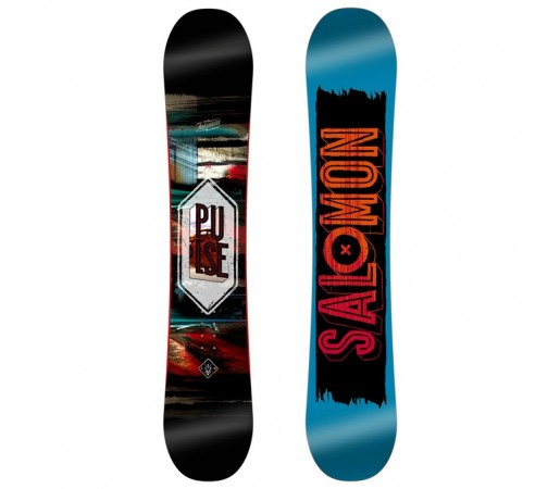 Placa Snowboard Salomon M Pulse Albastra