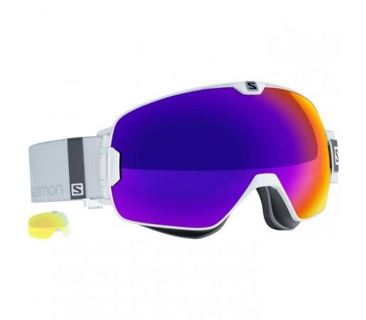 Ochelari schi si snowboard Salomon M X-Max Albi/Albastri