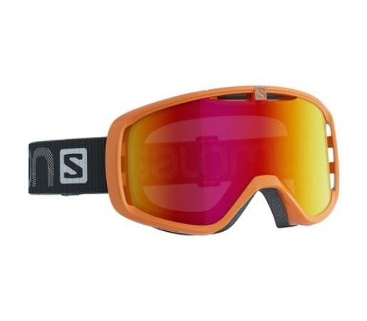 Ochelari schi si snowboard Salomon Aksium Portocalii