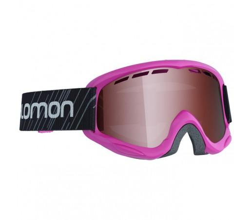 Ochelari schi si snowboard Salomon Jr. Juke Acces Roz