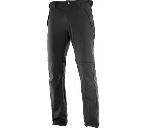 Pantaloni Salomon Wayfarer Zip M Negri