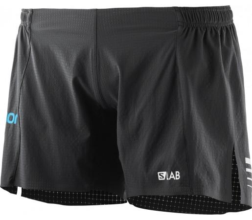 Pantaloni Scurti Alergare Salomon S/Lab 6 W Negru