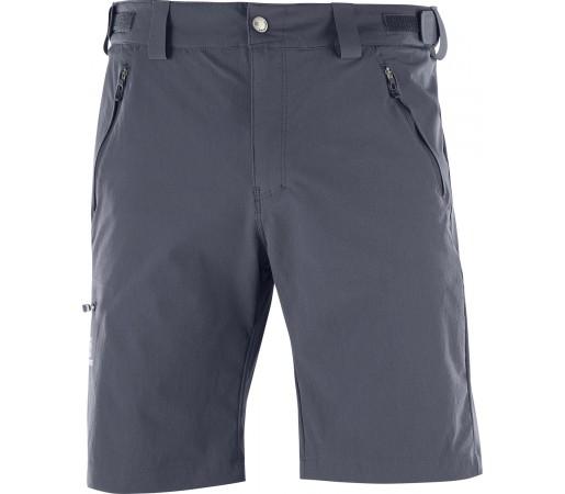 Pantaloni Scurti Hiking Salomon Wayfarer M Gri Inchis