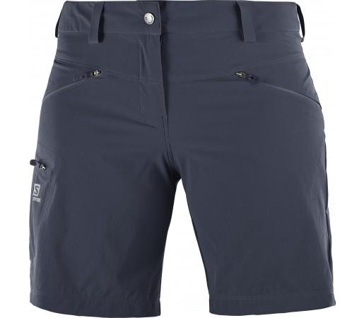 Pantaloni Scurti Hiking Salomon Wayfarer W Gri Inchis