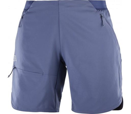 Pantaloni Scurti Hiking Salomon Outspeed W Albastru