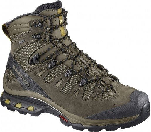 Ghete Barbati Hiking Salomon Quest 4D 3 GTX Verde / Maro