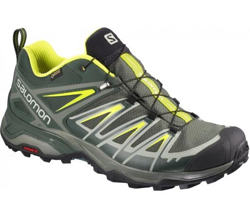 Incaltaminte Hiking Salomon X Ultra 3 GTX M Verde