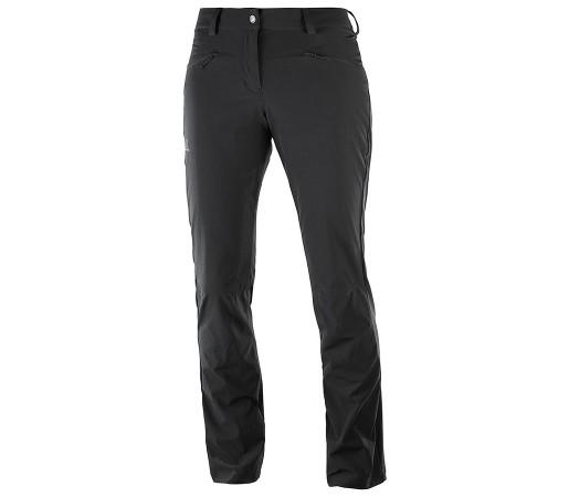 Pantaloni Femei Hiking Salomon Wayfarer LT Negru