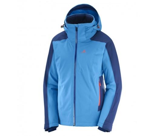 Geaca Ski Femei Salomon Brilliant Albastru
