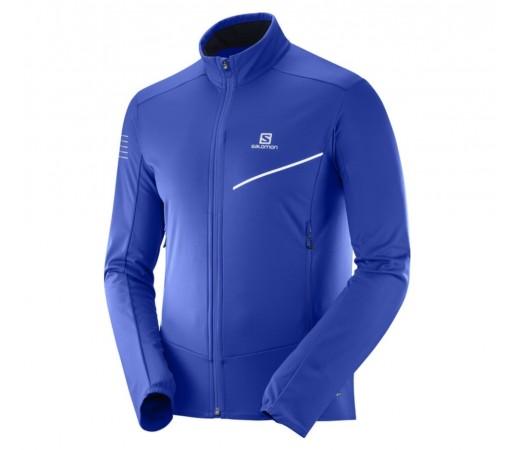 Geaca Softshell Ski Nordic Barbati Salomon RS Softshell Albastru