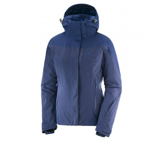 Geaca Ski Femei Salomon Icerocket+ Albastru