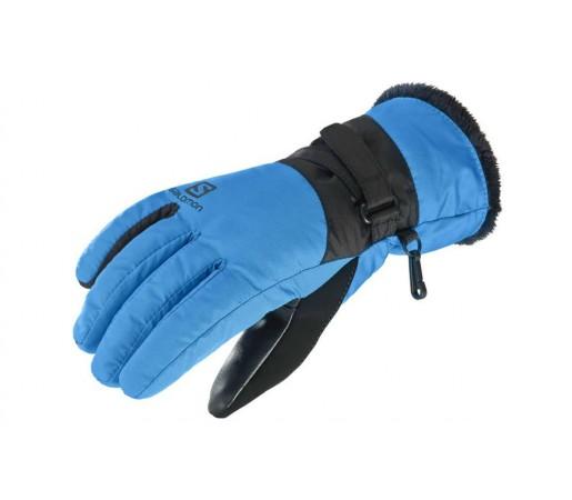 Manusi Ski Femei Salomon Force Dry Albastru