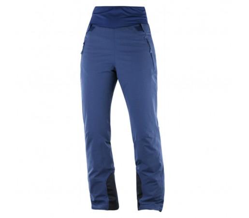 Pantaloni Ski Femei Salomon Catch Me Albastru