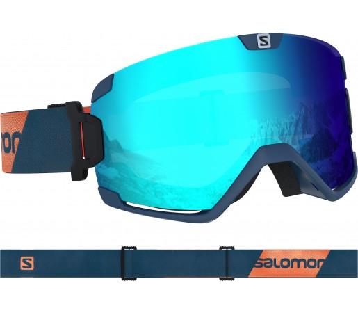 Ochelari Ski si Snowboard Salomon Cosmic Moroccan Blu/Univ. M.Blue Bleumarin