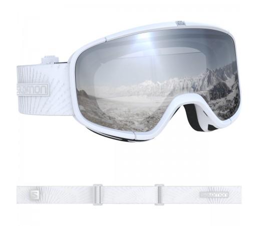 Salomon Ochelari Ski FOUR SEVEN White/Univ. S.White Unisex Alb