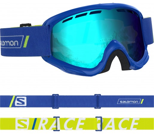 Ochelari Ski si Snowboard Copii Salomon Juke Race Blue/Univ. Mid Blue Albastru