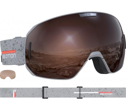 Ochelari Ski si Snowboard Salomon S/Max Access Grey Matt/Sol Mir Gri