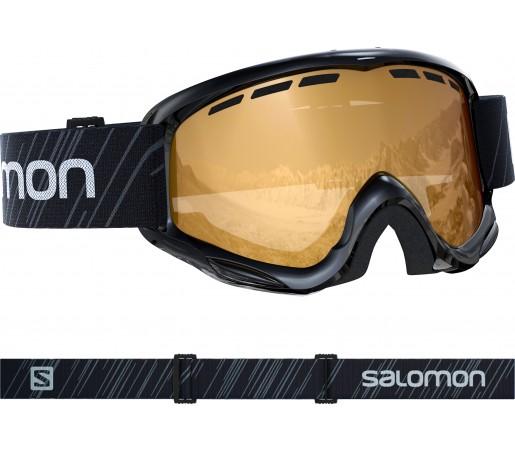 Ochelari Ski si Snowboard Copii Salomon Juke Access Bk/Solar T.Orange Negru