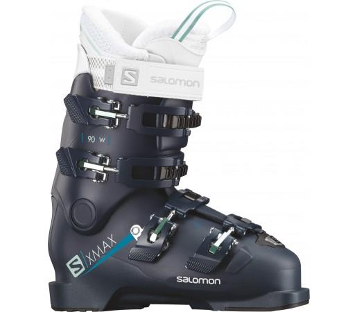 Clapari Ski Femei Salomon X Max 90 Albastru 2019