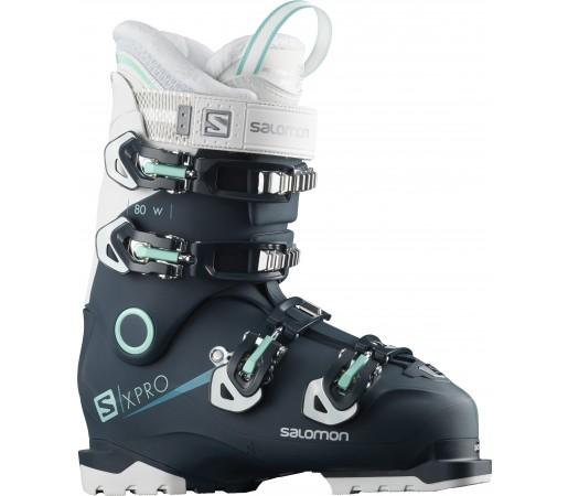 Clapari Ski Femei Salomon X Pro 80 Albastru 2019