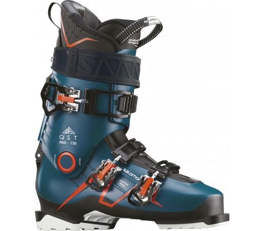Clapari Ski Barbati Salomon Qst Pro 120 Turcoaz 2019