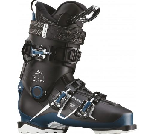 Clapari Ski Barbati Salomon Qst Pro 100 Albastru 2019
