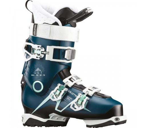 Salomon Clapari Ski QST PRO 90 TR Femei Albastru